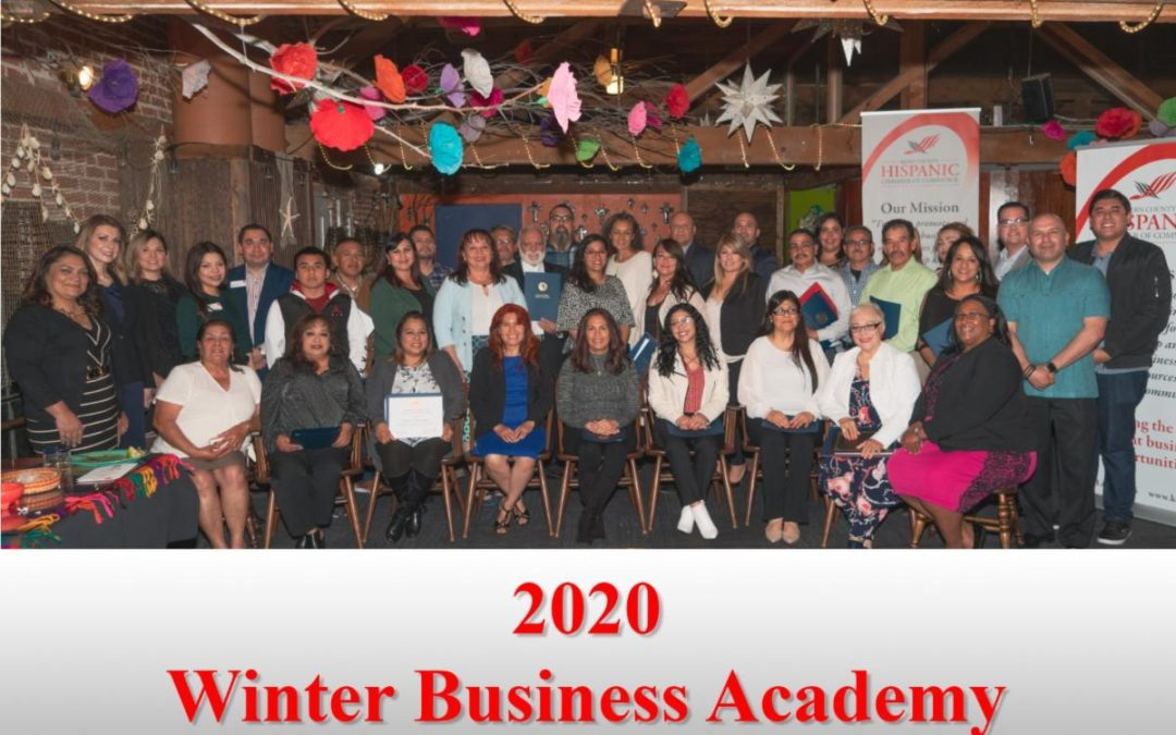 2020 Winter Business Academy