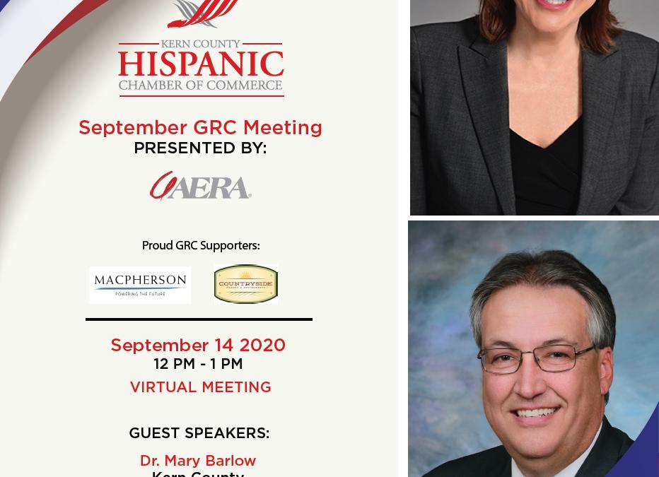 September GRC Meeting