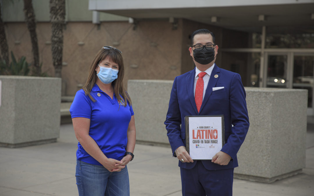 The Kern County Latino COVID-19 Task Force Urges Residents To Get Tested and Help Keep Kern Open