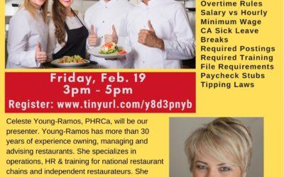 Labor law fundamentals for Restaurants