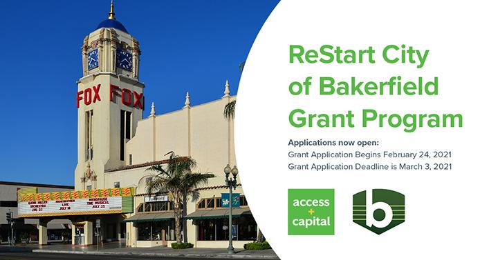 ReStart Bakersfield Grant Program