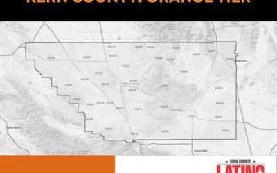 Kern County: Orange Tier Effective 4/14