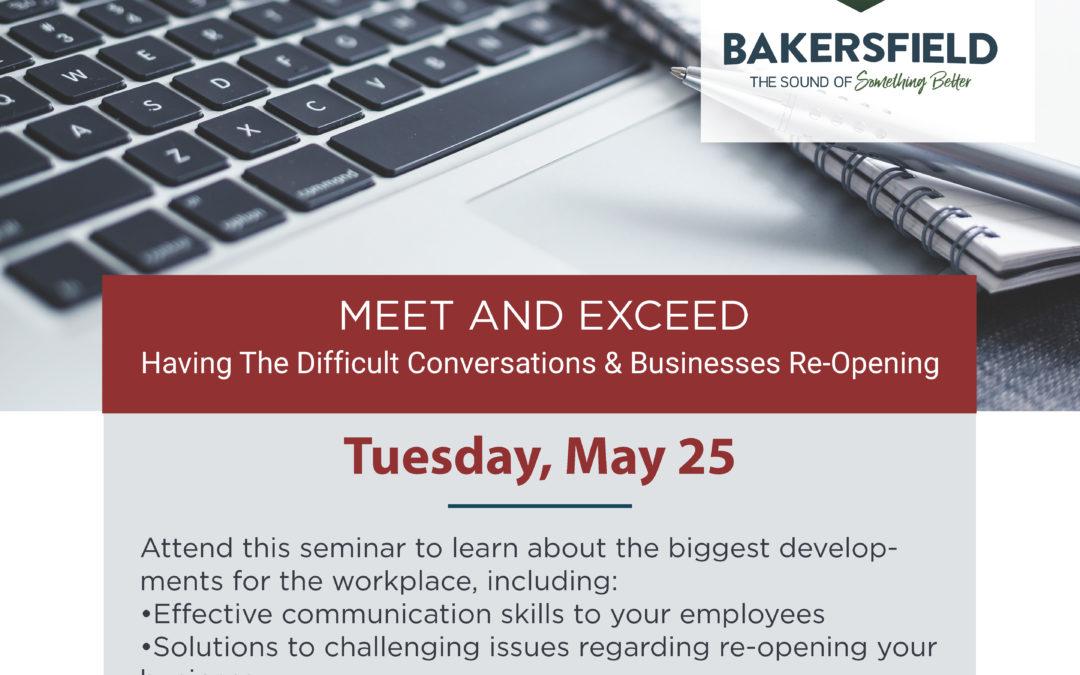May Business Seminar