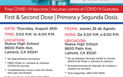 August 26: Lamont Vaccination Clinic